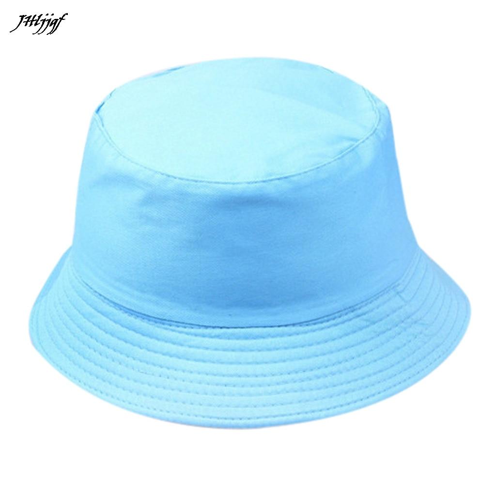 Hombres Mujeres cubo sombrero Hip Hop pescador Panamá sombreros bordado algodón verano Casual cubo Cap salvaje gorro de protección solar al aire libre
