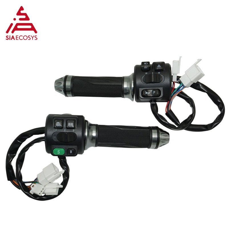 QSMOTOR 12inch 3000W 48V 74kph Hub Motor with EM100SP controller and kits for electric scooter enlarge