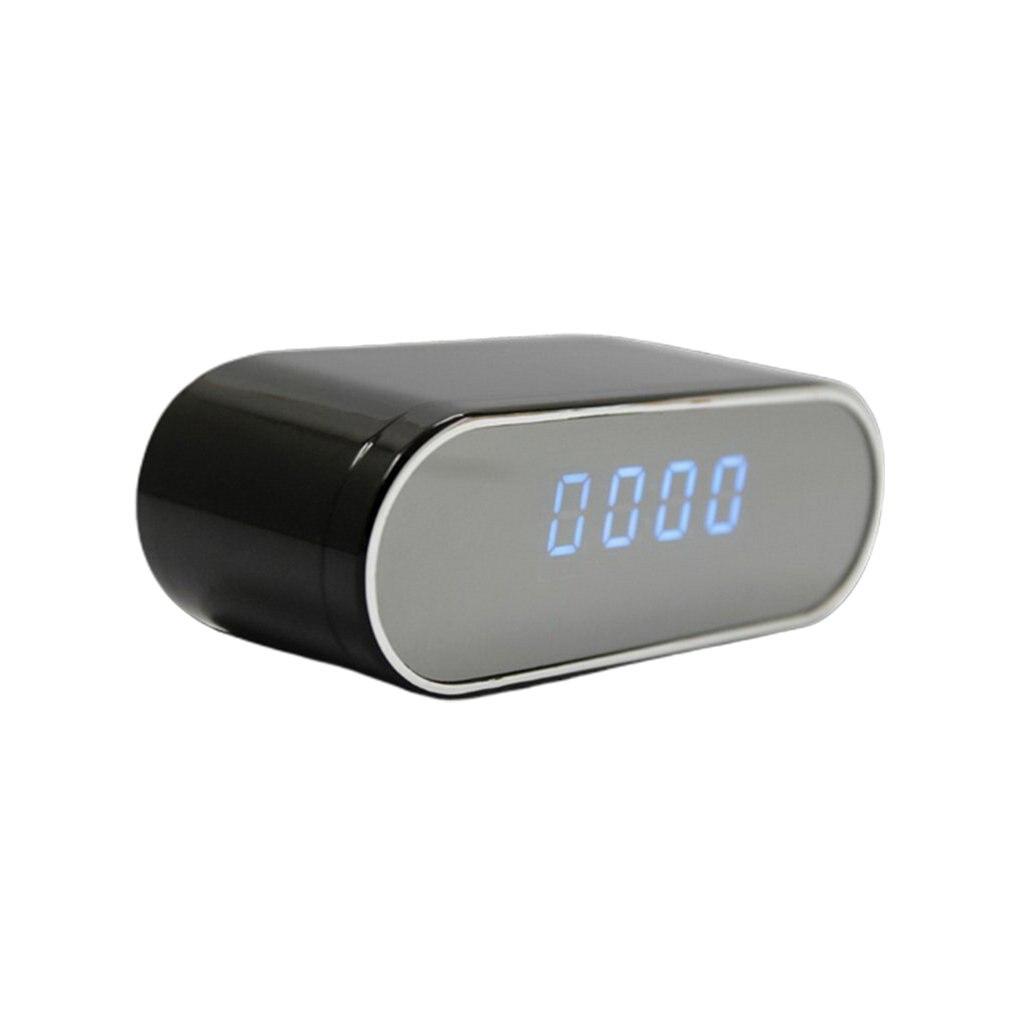 1080P HD ساعة الكاميرا اللاسلكية واي فاي كاميرا مايكرو كام الأشعة تحت الحمراء للرؤية الليلية إنذار كاميرا الفيديو ساعة رقمية فيديو مسجل فيديو ر...