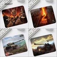 world of tanks 22x18cm non slip mouse pad small pads family laptop gamer rubber mouse mat mousepad desk gaming mousepad cup mat
