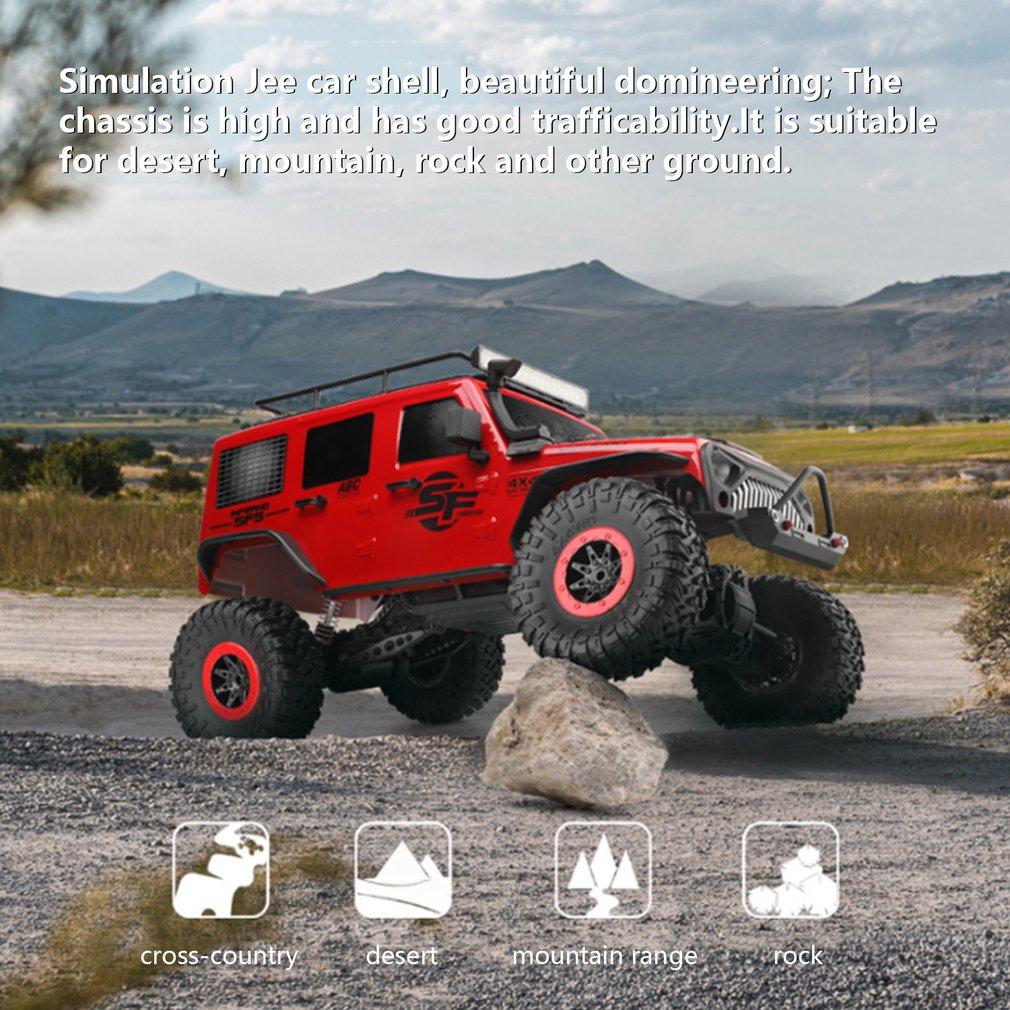 WLtoys 104311 RC Car 2.4G 1/10 4WD Big Funny Car SUV Brushed Motor Remote Control Off-road Crawler Car enlarge