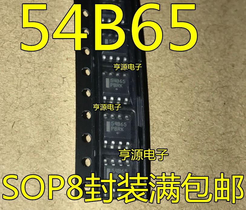 10 piezas 54B65 NCP1654 NCP1654BD65R2G LCD Original IC de gestión de alimentación SOP-8