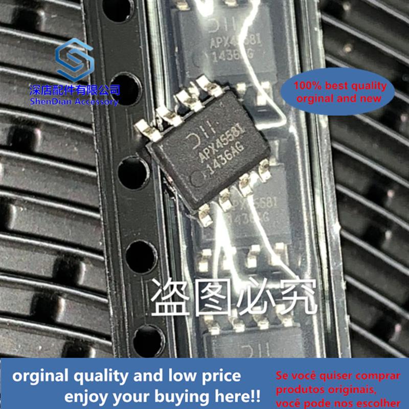 20 قطعة 100% الاصلي و جديد APX4558IS-13 الثنائيات SOP8 APX4558I APX45581 أفضل كوالتيي