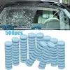 500 pièces ménage verre nettoyage essuie-glace Fine séminoma essuie-glace Auto fenêtre nettoyage Effervescent tablette pare-brise verre nettoyant