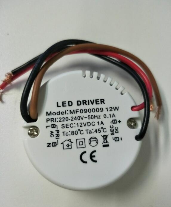 600pcs/lot wholesales AC220-240V To DC12V 12W LED Driver Power Supply For DC12V G4 G9 MR16 G5.3 3528 3020 3014 5050 5630 LED