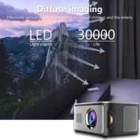 Mini projecteur multimedia LED  HD 1080P  pour Home cinema NC99
