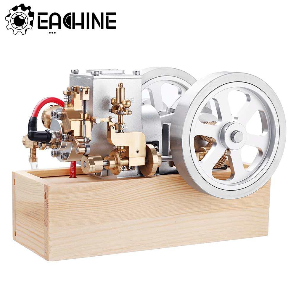 Eachine Motor ET6 Mini turbina Motor Gasolina Horizontal Hit y Miss completa combustión interna modelo STEM mejora Gas Juguetes