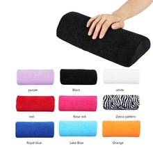 Nail Art Hand Pillow Hand Rest Palm Holder Manicure Table Washable Hand Cushion Pillow Beauty Hand M