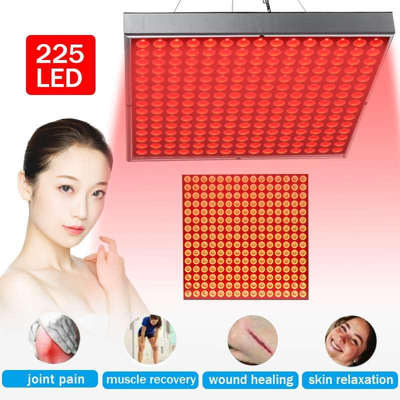 Lámpara LED roja de 450W para terapia de luz roja de 660nm para Terapia de cuerpo completo para alivio del dolor de articulaciones de músculos lámpara de Panel de terapia wanti-aging