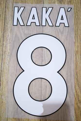 Insignia de parche KAKA nameset 2008-2009