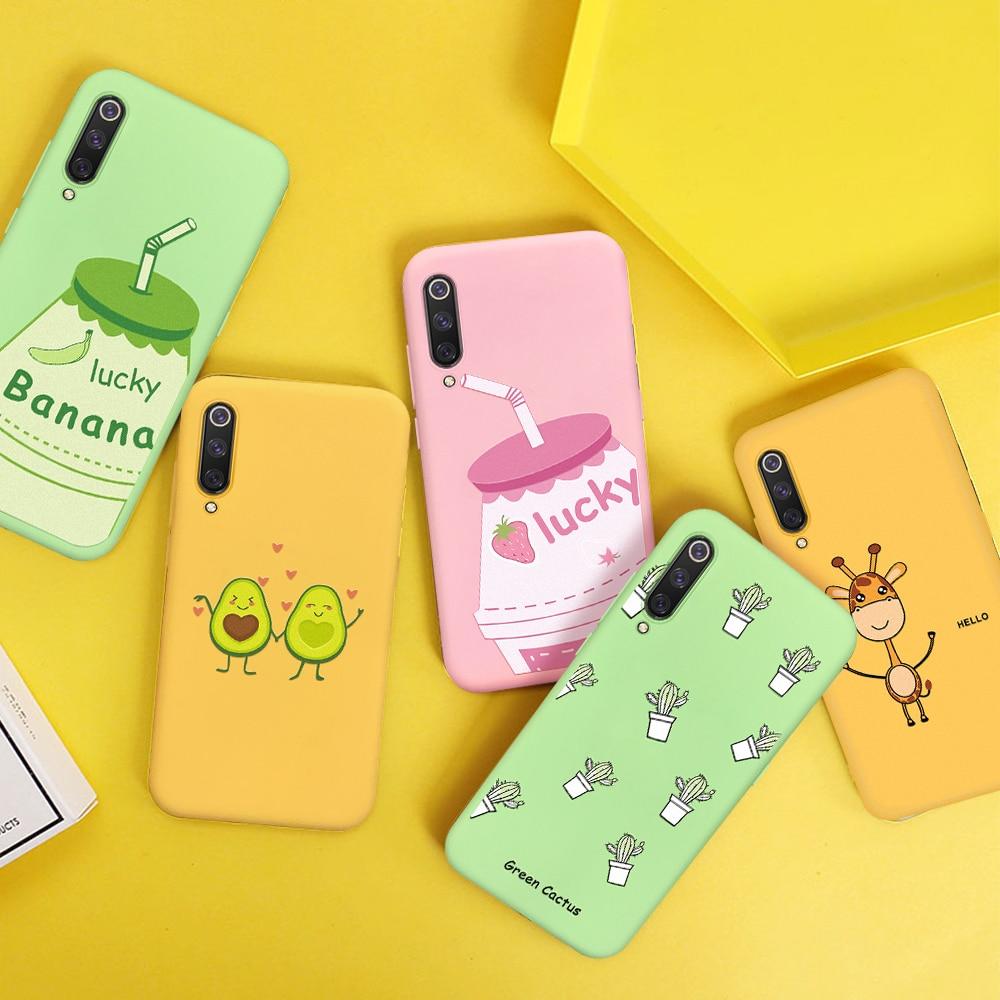 Silicone Soft TPU Case For Xiaomi Mi 9T Pro Mi 9 Mi8 Lite Mi8 Mi 9t CC9E MiA3 Lite Cute Cartoon Patt