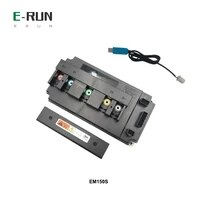 votol 180a boost dc pmsm em150s motor controller with three speed reverse function for qs138 mid drive 3kw 4kw