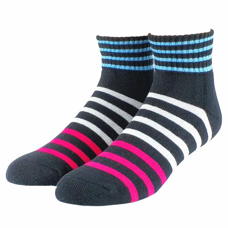 Комплект мужских цветных полосатых носков, 2 пары