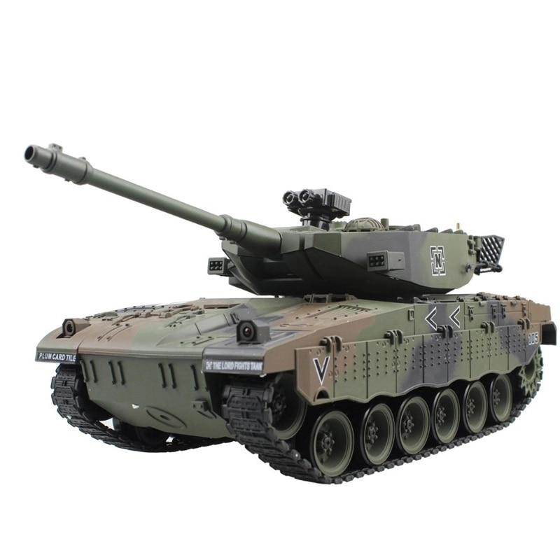 RC Tank Israel Merkava Tactical Vehicle Main Battle Military Main Battle Tank Model Sound Recoil Electronic Hobby Toys