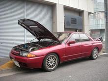 Bonnet Hood Lift Supports Shock Gas Struts Charged For NISSAN GTR For Nissan GT-R R32 Skyline 1989–1994 Carbon Fiber