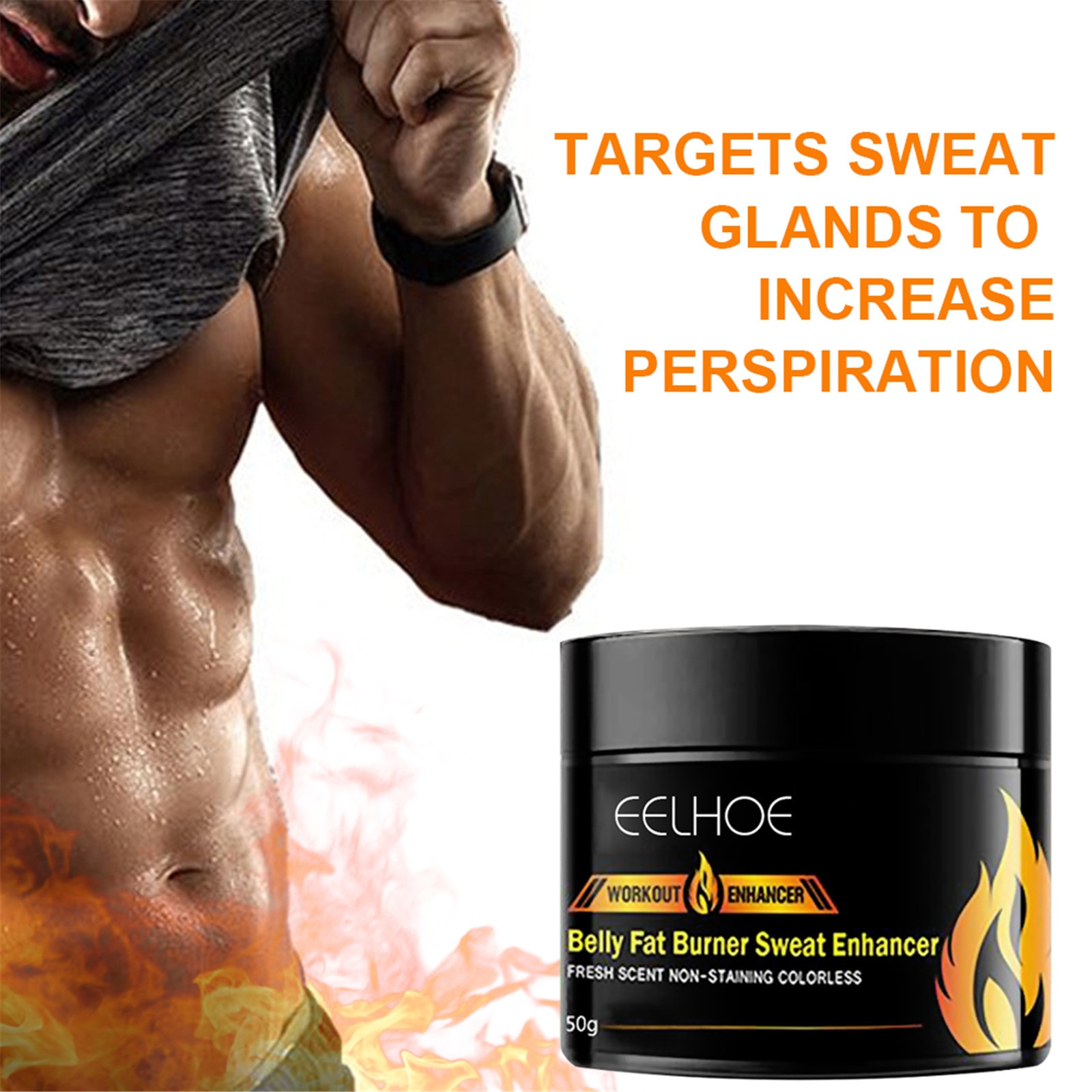 1PC Fat Burning Cream Belly Sweat Cream Men Women Weight Loss Workout Slimming Enhancer Stomach Diet Pills Reduce Cellulite slimming weight loss diet pills reduce capsule anti cellulite fat burning burner lose weight reducing aid emaciation products