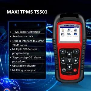 Image 4 - Датчик Autel TPMS MX Sensor 2в1 Инструменты для ремонта шин TPMS сенсор Поддержка программирования с TS501 TS508 равный 433 МГц + 315 МГц