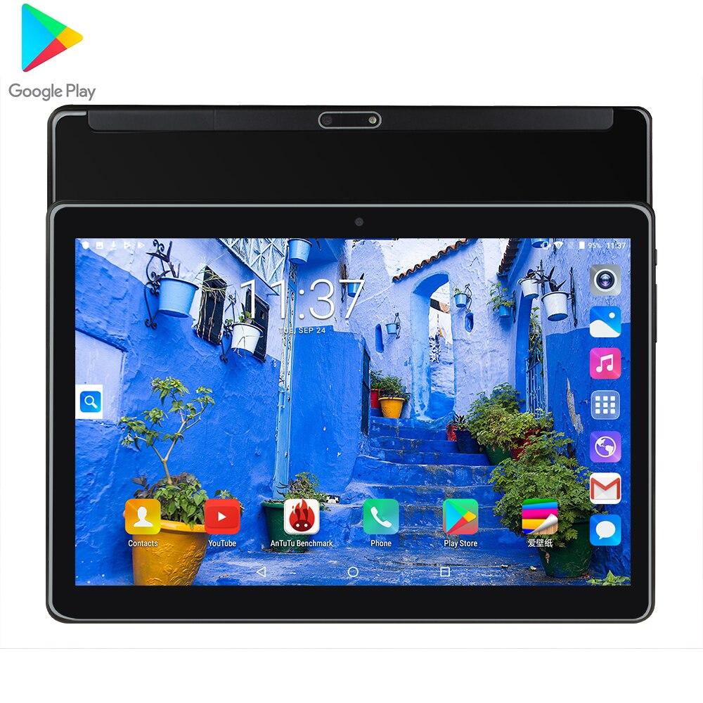 2020 el más nuevo 10 pulgadas tablet Android 9,0 Quad Core 1,5 GB RAM 32GB ROM Wifi GPS llamada de teléfono de la pc de la tableta de la pantalla de