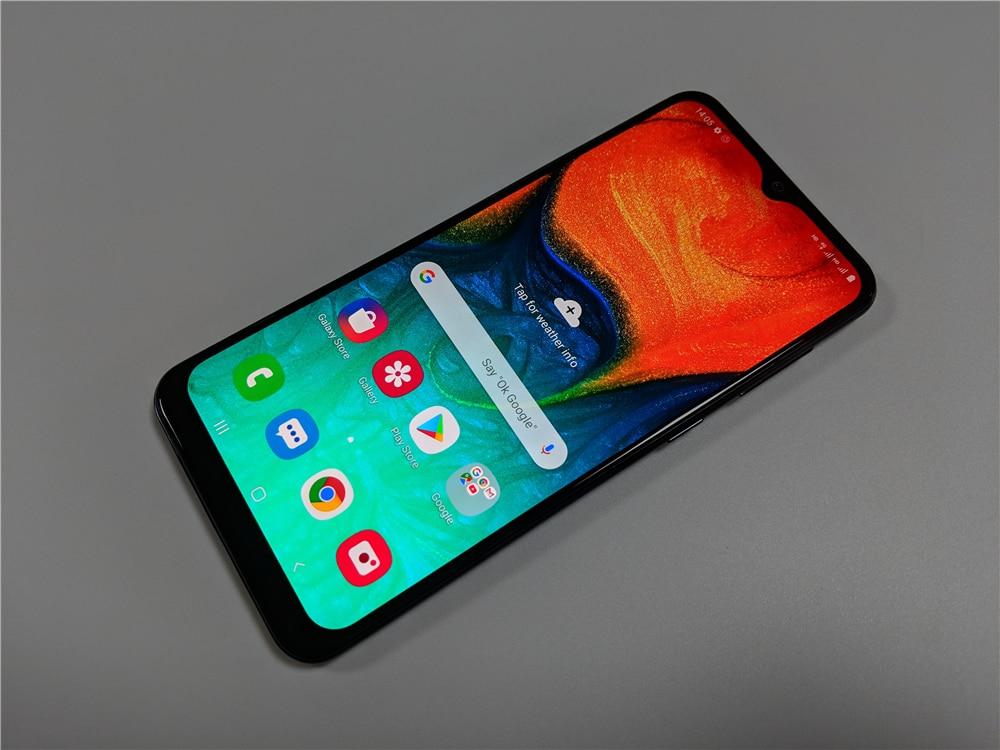 "Samsung Galaxy A30 A305F/DS 6.4"" Unlocked Cell Phone 4GB RAM 64GB ROM Refurbished Mobile Phone Camera 26 MP Dual SIM Smartphone"