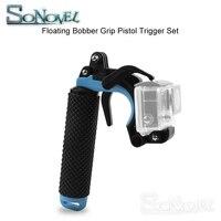 Съемка плавающей рукоятка-поплавок пистолет триггер набор для GoPro Hero 7 6 5 черный Xiaomi Yi 4K SJCAM SJ4000 Экшн-камера Go Pro 7 аксессуар