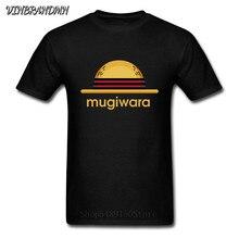 Drôle une pièce chapeau de paille T-Shirt Mugidas Anime Mugiwara logo Luffy Harajuku homme hauts Pirate roi T-Shirt Cool pêche chapeau Camisa