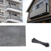 Balcony Wind Shield UV Protection Shade Cloth Privacy Screen Cover Netting Terrace Canopy Sail Beautiful Sun Shade Nets