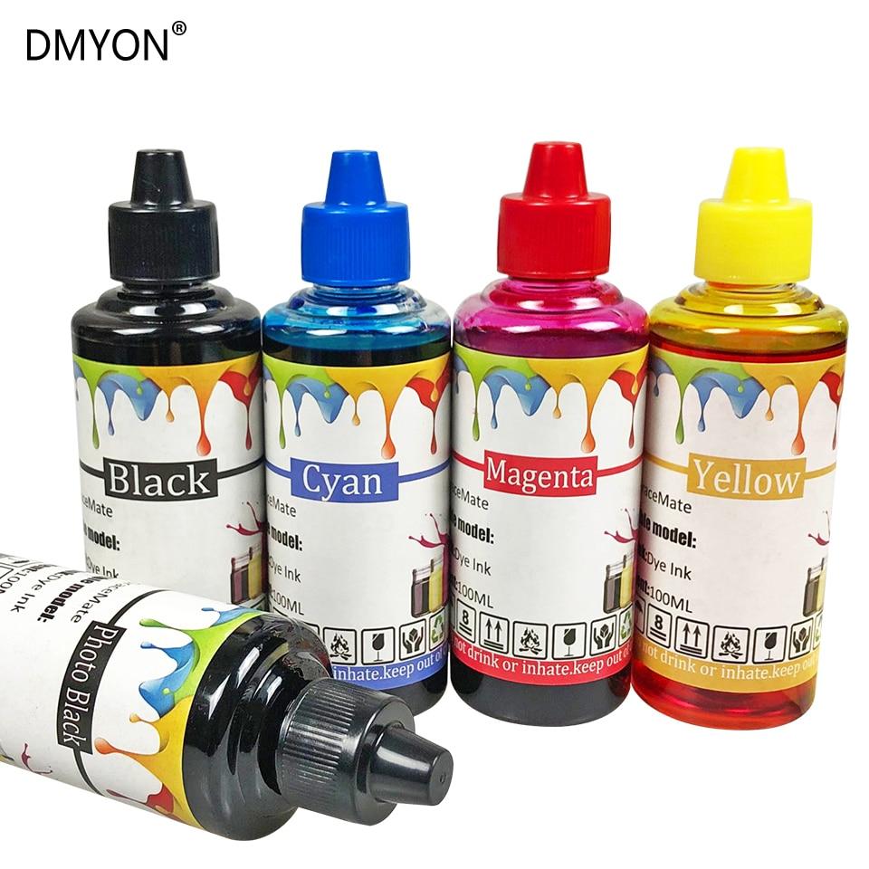 Compatíveis para Epson Kit de Recarga de Tinta Dmyon Sx420w 425w 438w 440w 445w 235w 525wd 535wd 620fw Impressora T1291 T1292 T1293 T1294