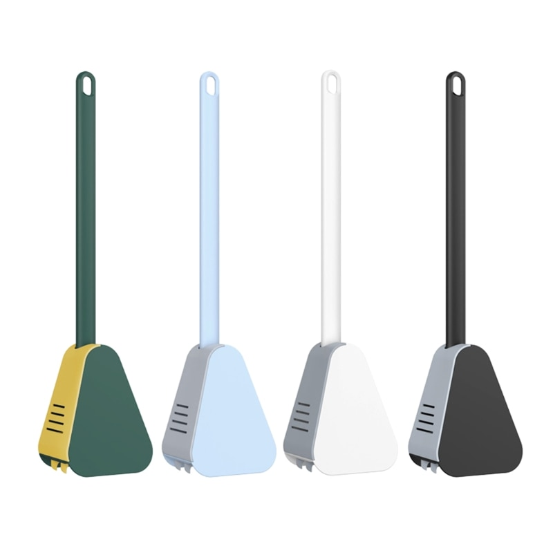 Wall-Mounted Long-Handled Toilet Brush Golf Brush Head Toilet Brush Cleaning Tool Home Bathroom Accessories Sets Corner Cleaning enlarge