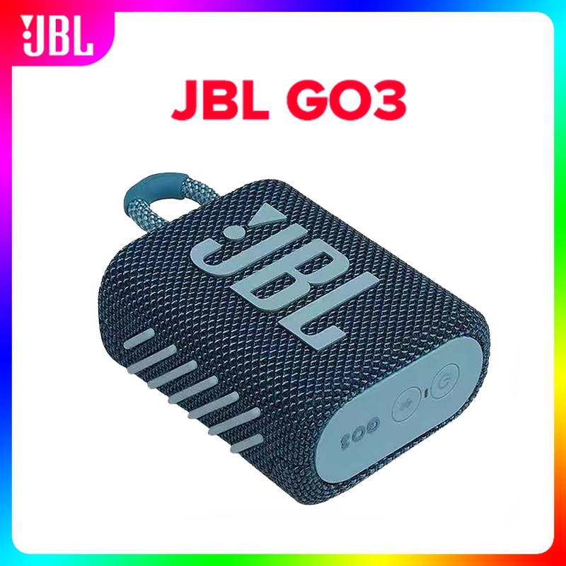 Original JBL GO 3 GO3 wireless Bluetooth Speaker Subwoofer Outdoor Speaker IP67 Waterproof Mini Speaker Bass Sound 9 colour