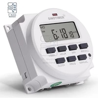dc tm618n 2 smart switch timer microcomputer time control switch 5v 12v 110v 220v programmable digital electronic timer switch