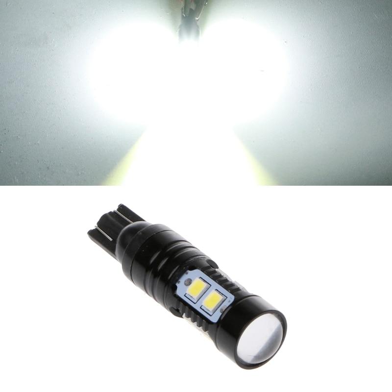 1 ud. 50W 921 912 T10 10LED 6000K HID Luz de marcha atrás blanca bombilla de Xenón