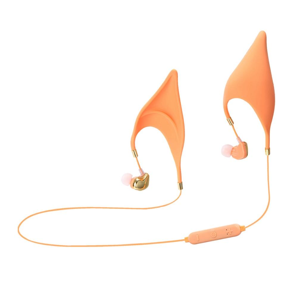 Elf oreilles Bluetooth casque Microphone remplacement écouteurs intra-auriculaires Cosplay fée créative Halloween cadeaux pour les enfants