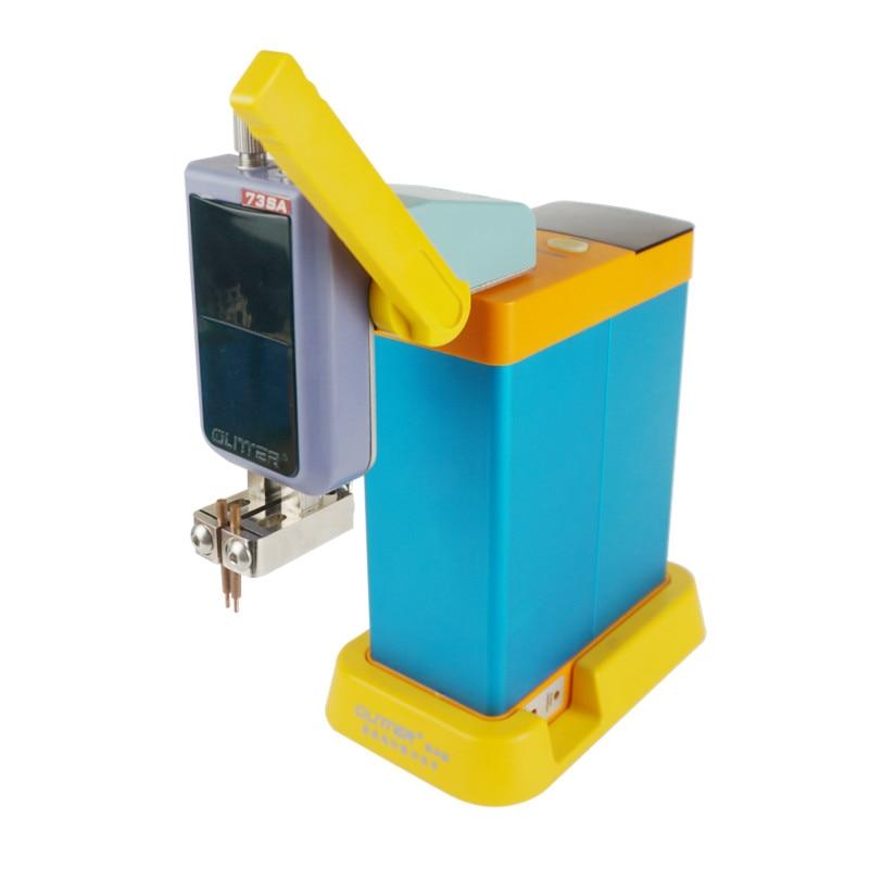LED digital display GLITTER 801B storage capacitor spot welding machine portable small spot welder 100 ~ 240V global general enlarge