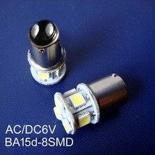 High quality,BA15d 6V,BA15d light,BA15d bulb 6v,BA15d led 6v,BA15d lamp 6v,BA15d,1142 6V,1142 6Vdc,1142,free shipping 100pcs/lot