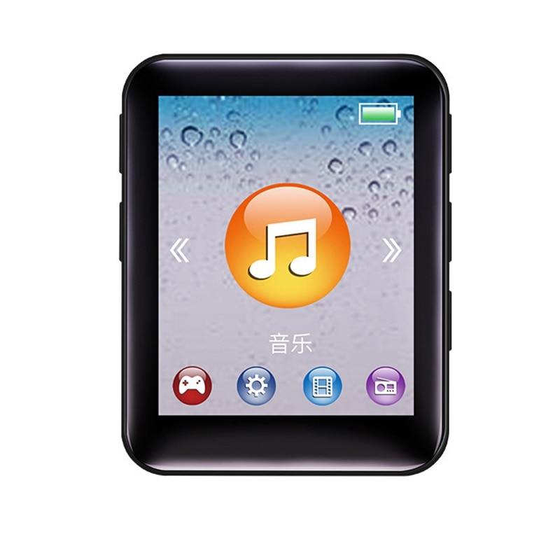 For1.8 Inch MP3 Player Button Music Player 4GB Portable Mp3 Player With Speakers High Fidelity Lossl