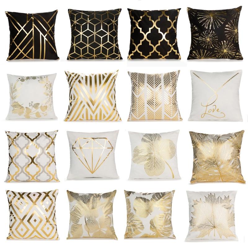 Cushion Cover Decorative Style Cotton Linen Pillowcase 45x45cm for Sofa Chair Pillow Cover Home Deco