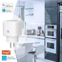 Adaptateur europeen  prise de lumiere a distance  16a  Homekit  prise electrique intelligente  Wi-Fi  Tuya  pour Alexa  Google Home