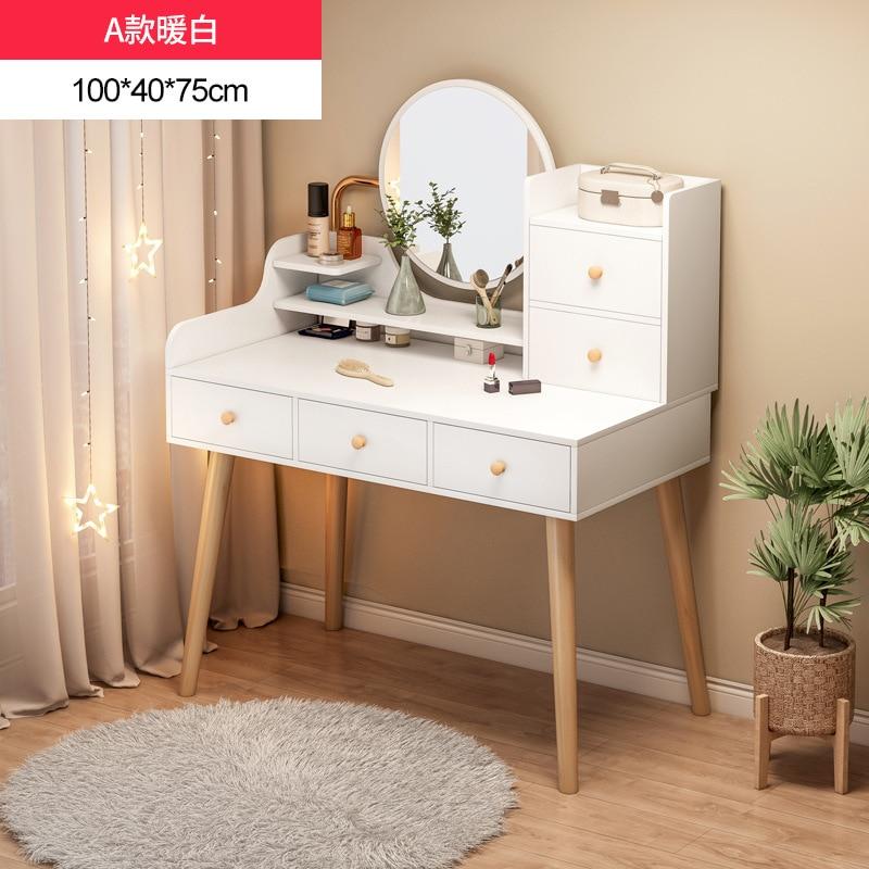 Комоды для спальни Многофункциональный маленький косметический столик туалетный столик современный столик для хранения Мебель для спальн...