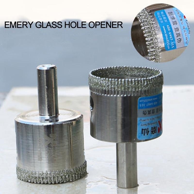 MX diamant trou forets verre marbre carrelage trou alésage pointu creux noyau forets pour main électrique perceuse diamètre 6-100mm