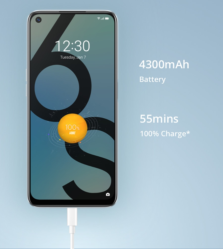 NEW Realme 6S Smart Phone 6G 128GB Global Version 6 90Hz 6.5' FHD 48MP Qual Camera 4300mAh 30W changer Android mobile phones 6 enlarge