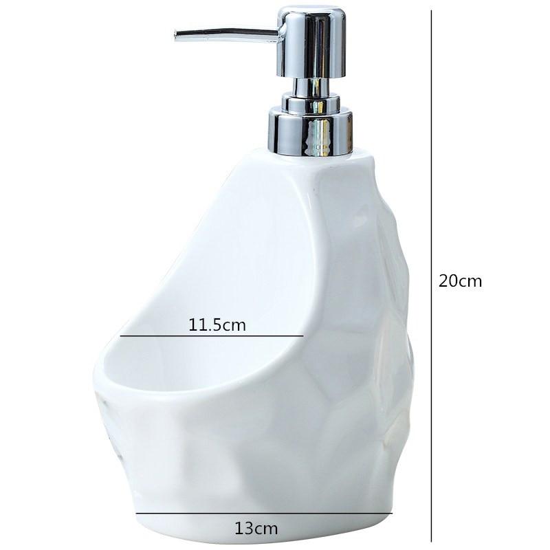 2 Pcs/Set Soap Dispenser Portable Hand Sanitizer Container Lotion Shampoo Bottles Desktop Decorative Bath Liquid Bottles Sets enlarge