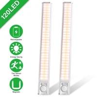 motion sensor light closet light 160 led night lights pir cabinet backlight cupboard wardrobe night lamp for kitchen bedroom