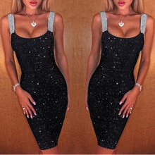 Sexy Sequins Dress Women 2021 Elegant Summer Dresses For Women 2020 Party Night Club Dress Backless