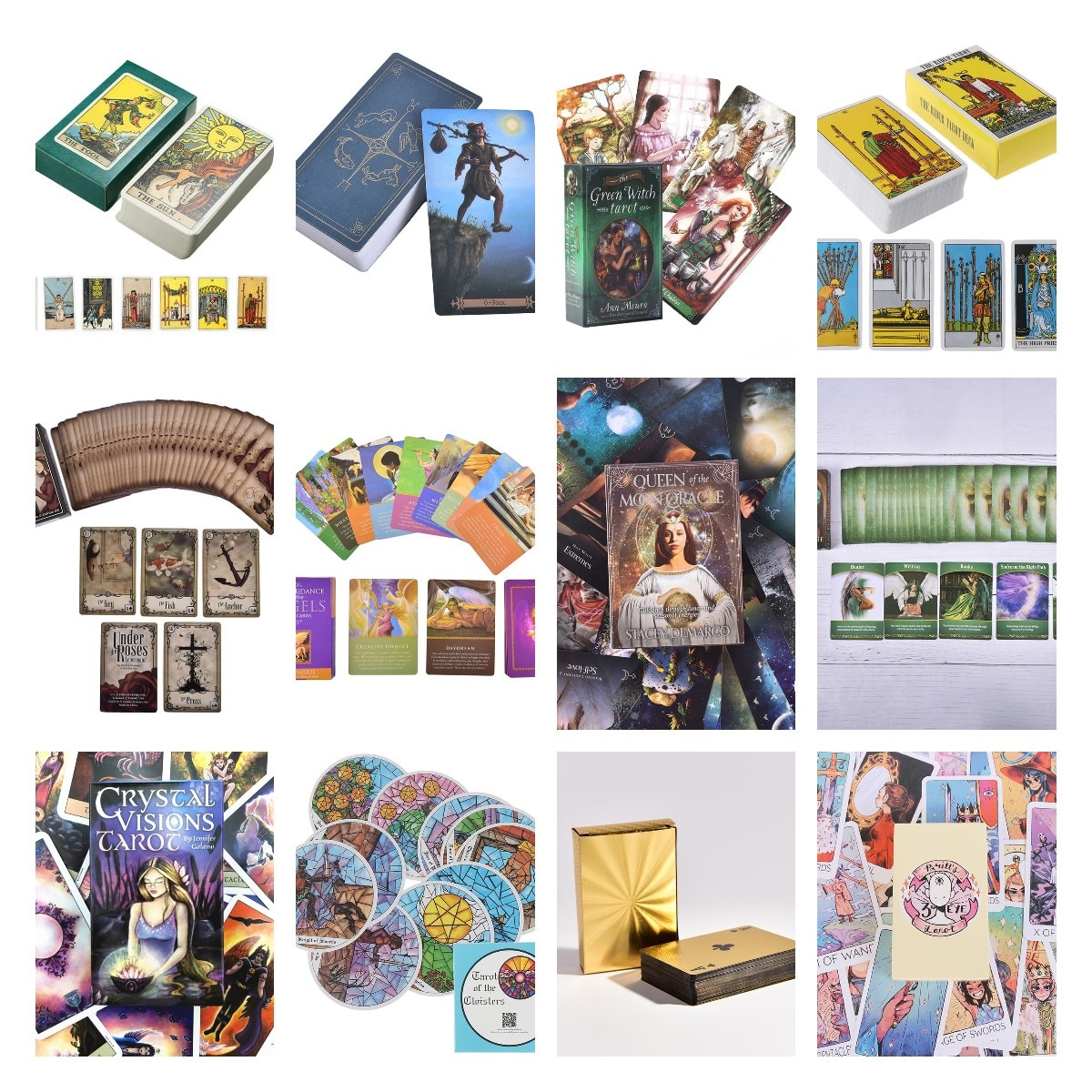 Фото - Modern Tarot Cards Deck Board Games English For Family Gift Party Playing Card Game Entertainment geistesing board game 2 8 players family party best gift for children english instructions cards game reaction blitz game
