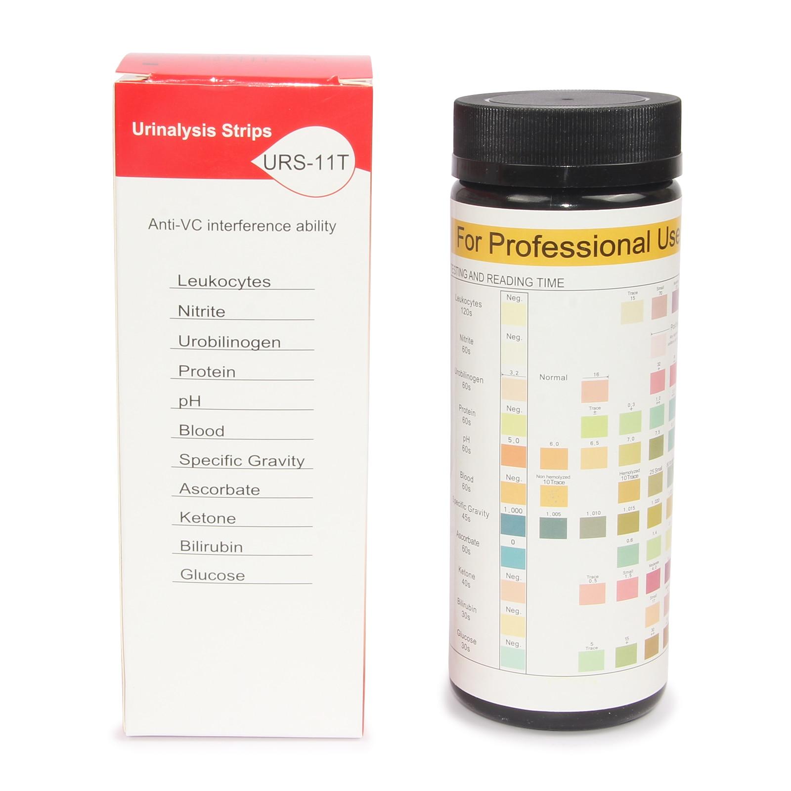 Tiras de teste para analisador de urina bc401