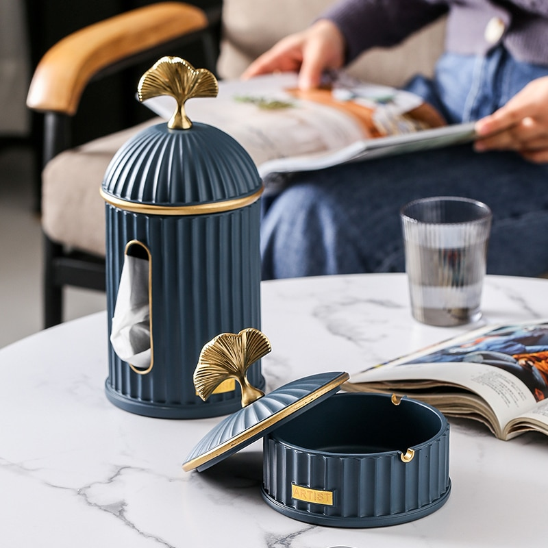 Nordic Creative Ashtray Decoration Home Living Room Ashtray Minimalist Luxury Boyfriend Gift Cenicero Desk Accessories BC50YHG enlarge