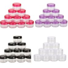 10Pcs 5g/ml Cosmetic Empty Pot Eyeshadow Makeup Face Cosmetic Cream Creams and Skin Care Products Co