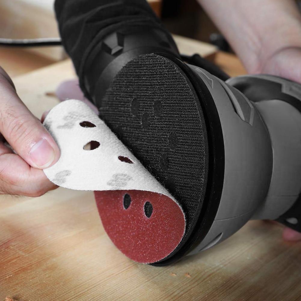 Brusný talíř na 5 palců, elektrická bruska, lešticí nástroje, - Brusné nástroje - Fotografie 6