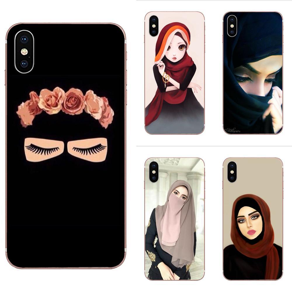 Ojos de chica islámica musulmana, arte increíble, paisaje para Xiaomi Redmi Mi 4 7A 9T K20 CC9 CC9e Note 7 9 Y3 SE Pro Prime Go Play