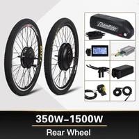 electric bike motor kit 1500w wheel hub motor 1000w ebike kit 500w ebike conversion kit 350w electric bike kit mxus 48v20ah